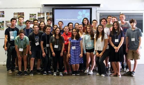 2015-2016 Jewish Teen Foundation