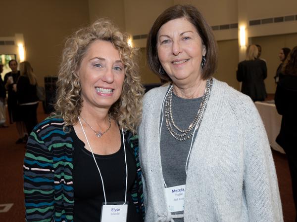 Elyse Sollender and Marcia Hazan