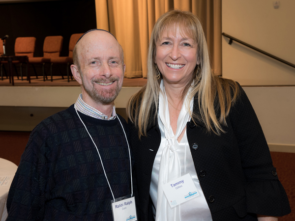 Rabbi Ralph Dalin and Tammy Gillies