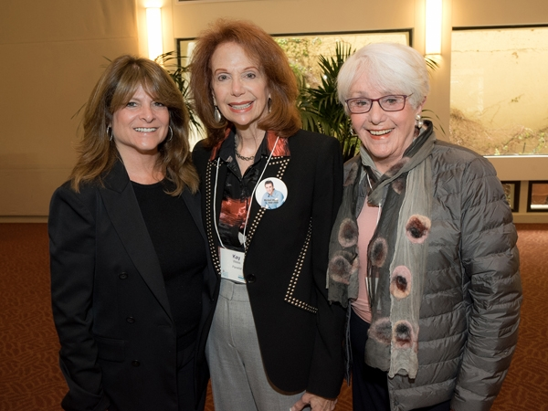 Liz Nederlander Coden, Kay Weiss and Joyce Axelrod