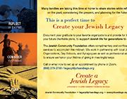 Create your Jewish Legacy