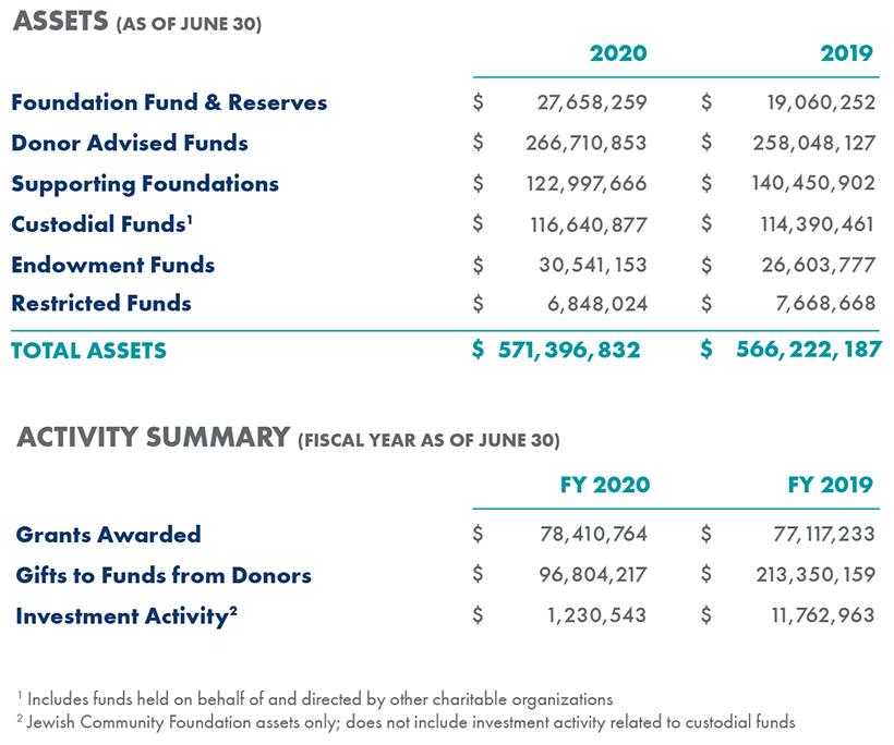 Asset Activity 2020